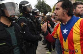 Katalónia: békés tüntetések rendbontásokkal tarkítva