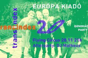 Transindex szülinapi buli az Európa Kiadóval: gyertek el!