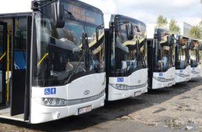 Hibrid autóbuszokat vásárol Szatmárnémeti