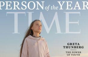 Greta Thunberg az év embere a Time szerint