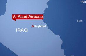 Amerikai katonai bázisokat bombázott az éjszaka az iráni hadsereg