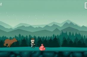 Kukacs: játék-applikáció készül, amiben a szelektíven gyûjtõ székely bácsi menekül a medve elõl