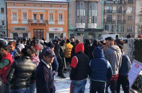Tüntettek Florea ellen Marosvásárhelyen