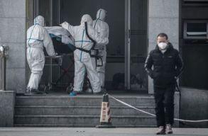 Tovább nõtt a koronavírus halálos áldozatainak és fertõzötteinek a száma