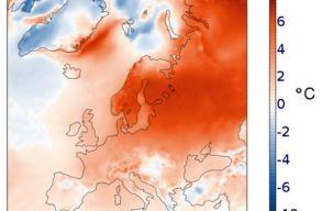 2020 januárja volt az eddig legmelegebb január Európában