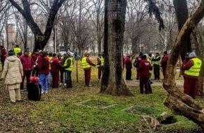 Az embertelen munkakörülmények miatt léptek spontán sztrájkba pakisztáni vendégmunkások Galacon