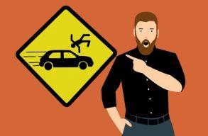 Újságírók indítottak mozgalmat a közlekedési balesetek számának csökkentése érdekében