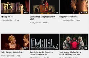 A Szigligeti Színház a járvány alatt felköltözik a Youtube-ra