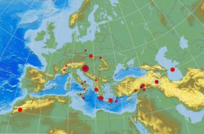 Két erõteljes földrengés rázta meg Zágrábot vasárnap