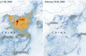 Szakértõ: 20-szor több életet mentett meg a légszennyezés csökkenése Kínában, mint ahányat a járvány követelt