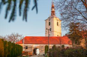 Sepsiszentgyörgyön javában zajlik a vártemplom felújítása