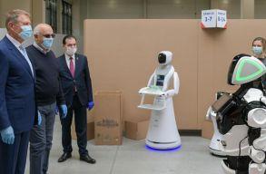 Johannis találkozott egy robottal, aki azt mondta neki, minden rendben lesz!