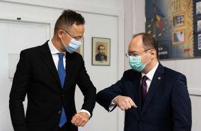 A magyar gazdasági támogatásokról is egyeztetett Szijjártó Bukarestben