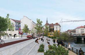 Gyalogos- és biciklisbaráttá alakítják a Szamos-partot Kolozsváron