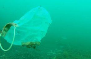 Egyre több az óceánokban az orvosi maszk és a gumikesztyû