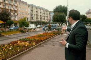 Elkezdték a Bethlen Gábor-szobor felállítási munkálatait Marosvásárhelyen