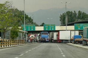 Mindenkit letesztelnek a bolgár-görög határnál