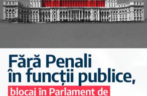 """A képviselõház megszavazta a """"Büntetõügyesek nélküli közéletet"""" kezdeményezést"""