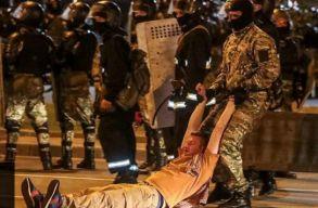 Lukasenka gyõzött a hivatalos eredmények szerint. Menj el! - skandálták a tüntetõk