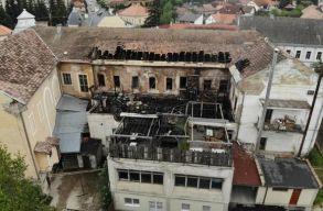 Leégett a csíkszeredai Grund terasza