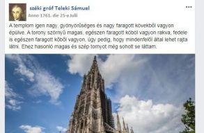 Facebook-posztok és progresszív értelmiség a 18. században: mitõl igazán érdekes Teleki Sámuel naplója?