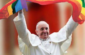 Ferenc pápa: a meleg gyerekekben is ott van Isten szépsége és szeretete