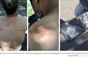 Euronews: a román határrendészek ostorral verik vissza a menekülteket