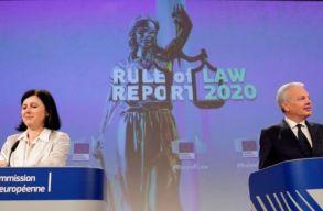 Brüsszeli jelentés: Románia átmenõt kapott jogállamiságból, Magyarország bukásra áll