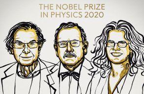 Feketelyuk-kutatók kapták a fizikai Nobel-díjat