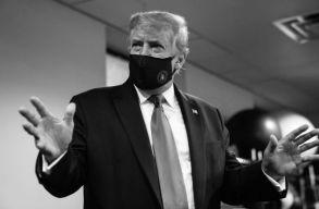 Trump isten áldásának tartja, hogy elkapta a covidot. Videóüzenet