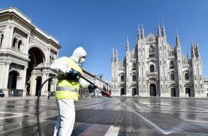 Ismét súlyos helyzetben Olaszország, szerdán több mint 7 ezer új Covid-19 esetet azonosítottak