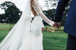 Üröm az örömben: covidos volt a menyasszony egy margittai mennyegzõn