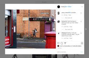 Banksy magára vállalta a nottinghami házfalon feltûnt graffitit