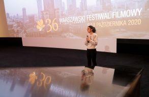 Elismerõ oklevelet kapott Varsóban Felméri Cecília elsõ mozifilmje