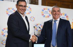 Cãlin Popescu-Tãriceanu és Victor Ponta vezeti a Pro Románia fõvárosi jelöltlistáit