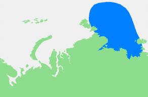 Még mindig nem indult el a jégképzõdés az északi-sarkvidéki tengeri jég bölcsõjének tekintett Laptyev-tengeren