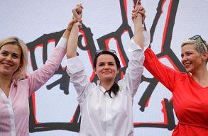 A belarusz ellenzék kapja idén az Európai Parlament Szaharov-díját