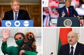 Híres politikusok, akiket nem kímélt a járvány
