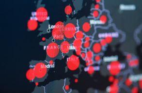 Európában rohamosan nõ a fertõzöttek száma, több országban a teljes lezárás mellett gondolkodnak