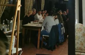 FRISSÍTVE: most a PSD-s Ciolacut csípték el, amint egy népes asztaltársasággal maszk nélkül vacsorázott