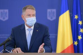Járványintézkedésekrõl, uniós pénzek lehívásáról és különbözõ aktuálpolitikai kérdésekrõl nyilatkozott Johannis