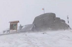 Havazik a hegyvidéken, viharos széllökésekre is számíthatunk