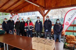 A Szatmár megyei gazdák adományoztak egy csomó zöldséget a szegényeknek
