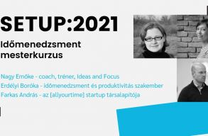 Online idõmenedzsment mesterkurzust tartanak Setup:2021 címmel