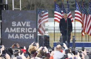 Trump visszatért a Twitterre, és azt üzente a tüntetõknek, meg fognak fizetni tetteikért