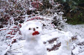 Havazik vagy havazni fog az ország nagy részén szombat hajnalig