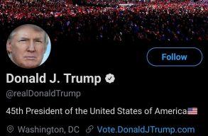 Végleg kitiltotta a Twitter Trumpot, és nem engedte ezt kicselezni sem