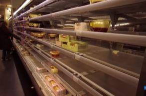 Már érzõdik a Brexit hatása egyes áruházakban: üresek a polcok