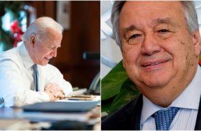 Az USA visszatér a párizsi klímaegyezménybe. Az ENSZ további vállalásokat vár Biden elnöktõl