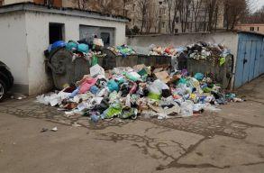 Szombattól nem szállítják el a szemetet Marosvásárhelyen